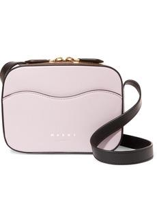 Marni Color-block Leather Shoulder Bag