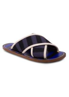 Marni Colorblock Crisscross Sandals