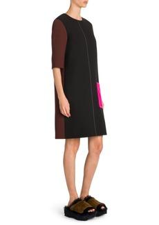 Marni Colorblock Shift Dress