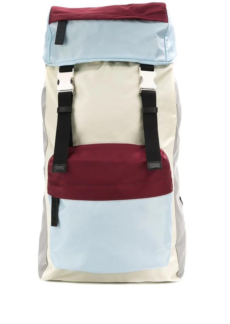 Marni colour block backpack