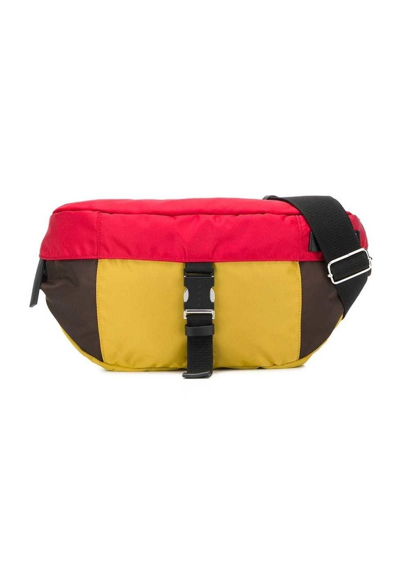 Marni colour block belt bag