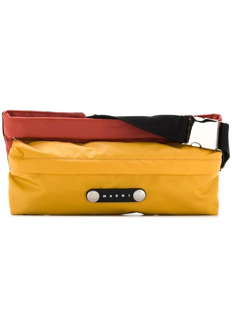 Marni colour-block belt beg