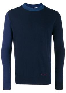 Marni colour-block jumper