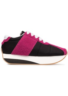 Marni colour block platform sneakers