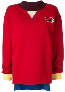 Marni colour block sweatshirt