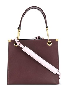 Marni colour block tote bag