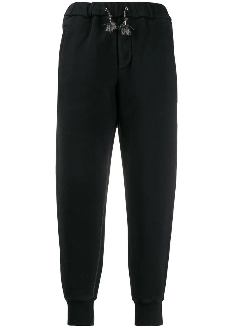 Marni colour block track trousers