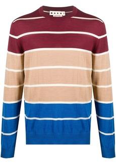 Marni colour-block wool jumper