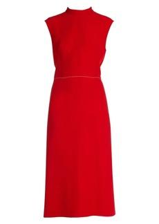 Marni Compact Cady Sleeveless A-Line Dress