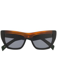 Marni contrast bridge sunglasses