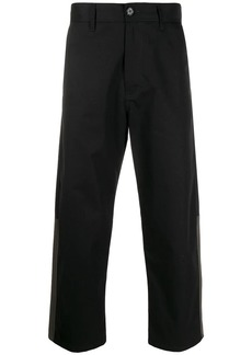 Marni contrast panelled cropped trousers
