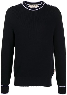 Marni contrast piping sweatshirt