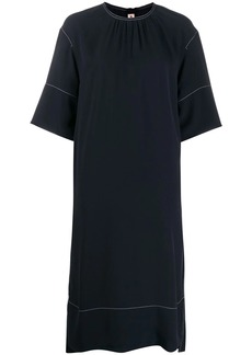 Marni contrast stitching dress