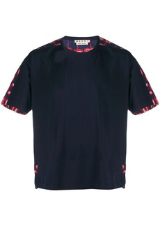 Marni contrasting printed T-shirt