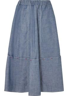 Marni Cotton-blend Chambray Skirt