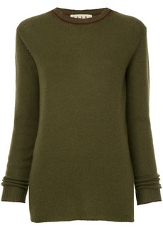 Marni crew neck knitted sweater