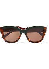 Marni Cromo Cat-eye Tortoiseshell Acetate Sunglasses