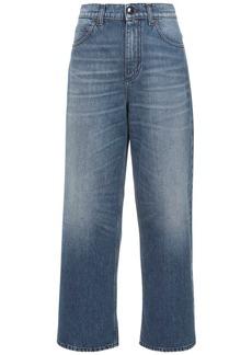 Marni Crop Cotton Denim Jeans