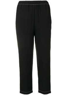 Marni cropped elasticated trousers