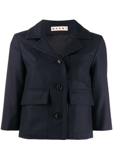 Marni cropped fitted jacket