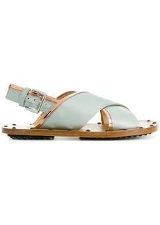Marni cross over strap sandals