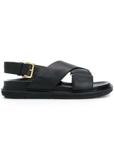 Marni crossover strap sandals