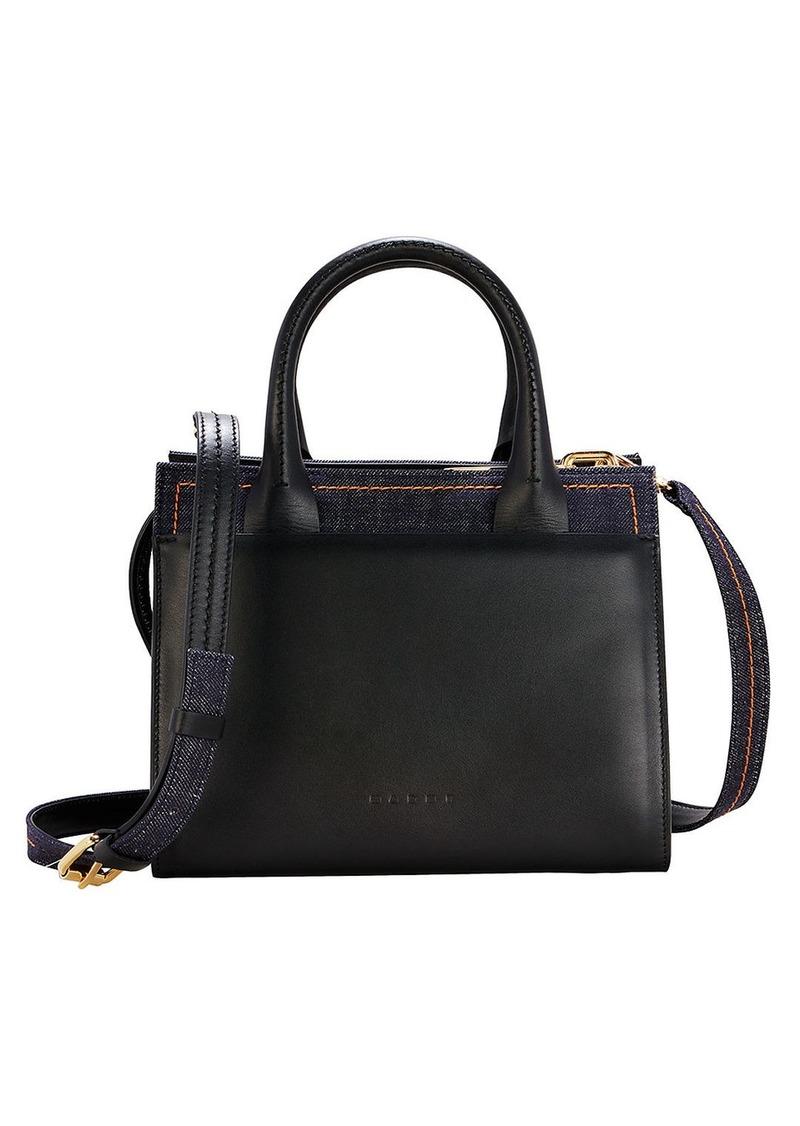 Marni Denim Shoulder Bag