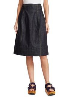 Marni Denim Zip Skirt