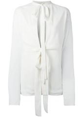 Marni double bow detail blouse