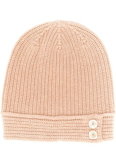 Marni double button knitted hat