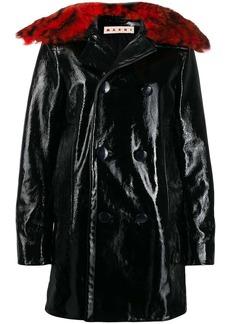 Marni double buttoned raincoat