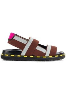 Marni double strap sandals