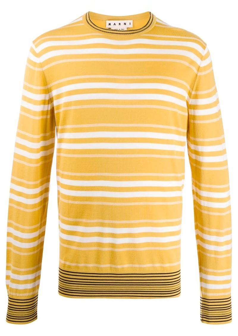 Marni double stripe sweater