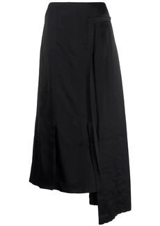 Marni draped pleated skirt