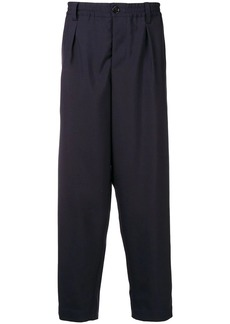 Marni darted tropical wool trousers