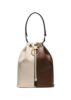 Marni Earring two-tone bucket bag