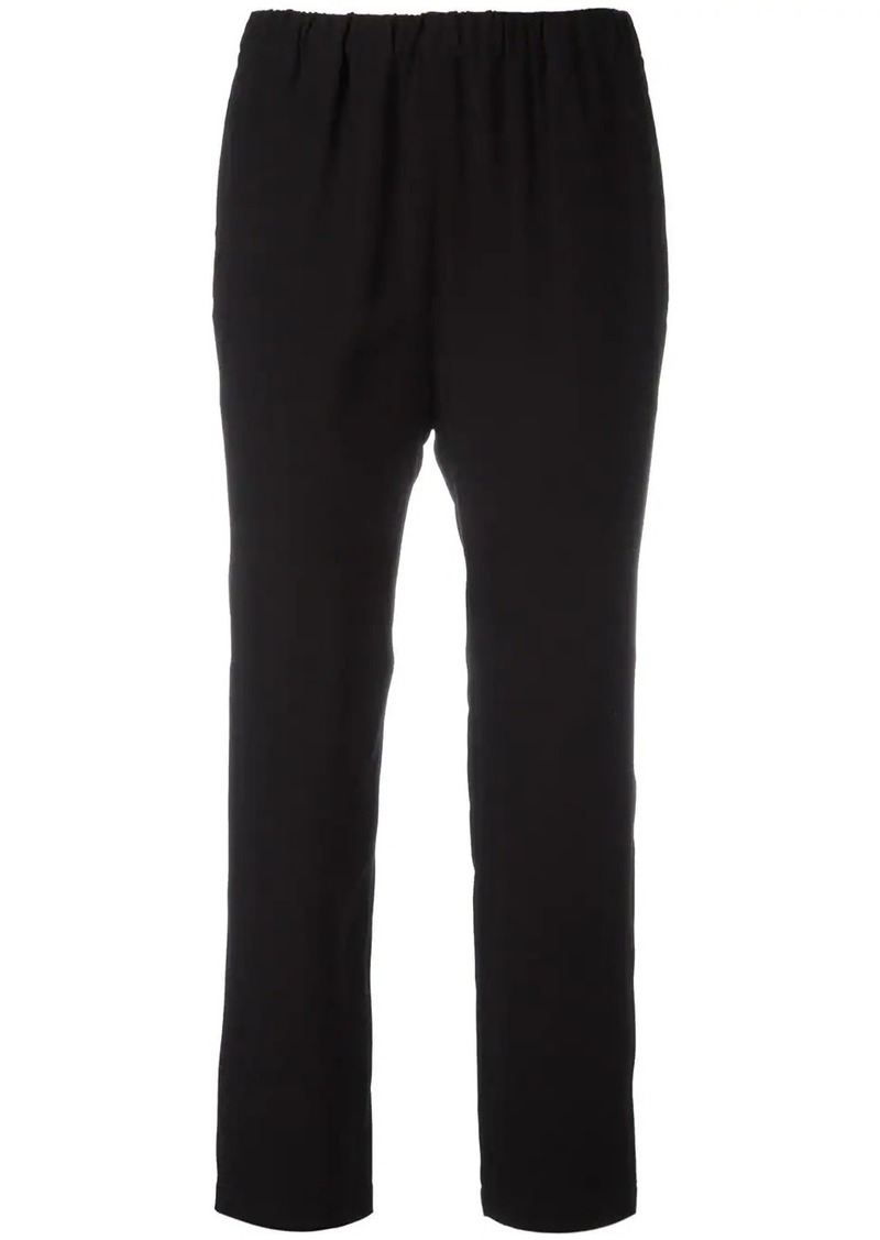 Marni elasticated straight-leg trousers