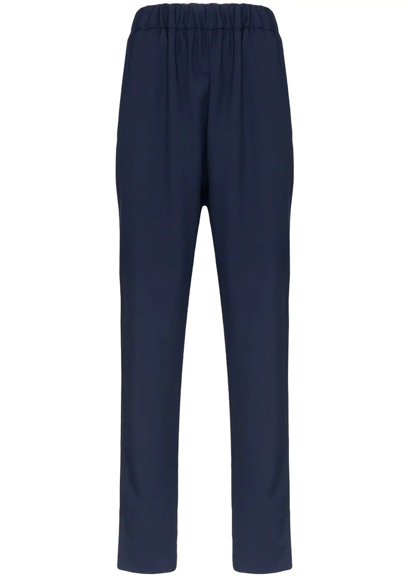 Marni elasticated-waist slim trousers