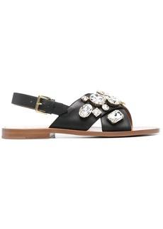 Marni embellished flat sandals