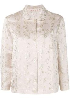 Marni embroidered shirt