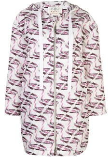 Marni faille Firebird print by Bruno Bozzetto jacket