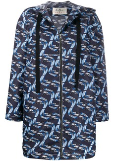 Marni Firebird print raincoat