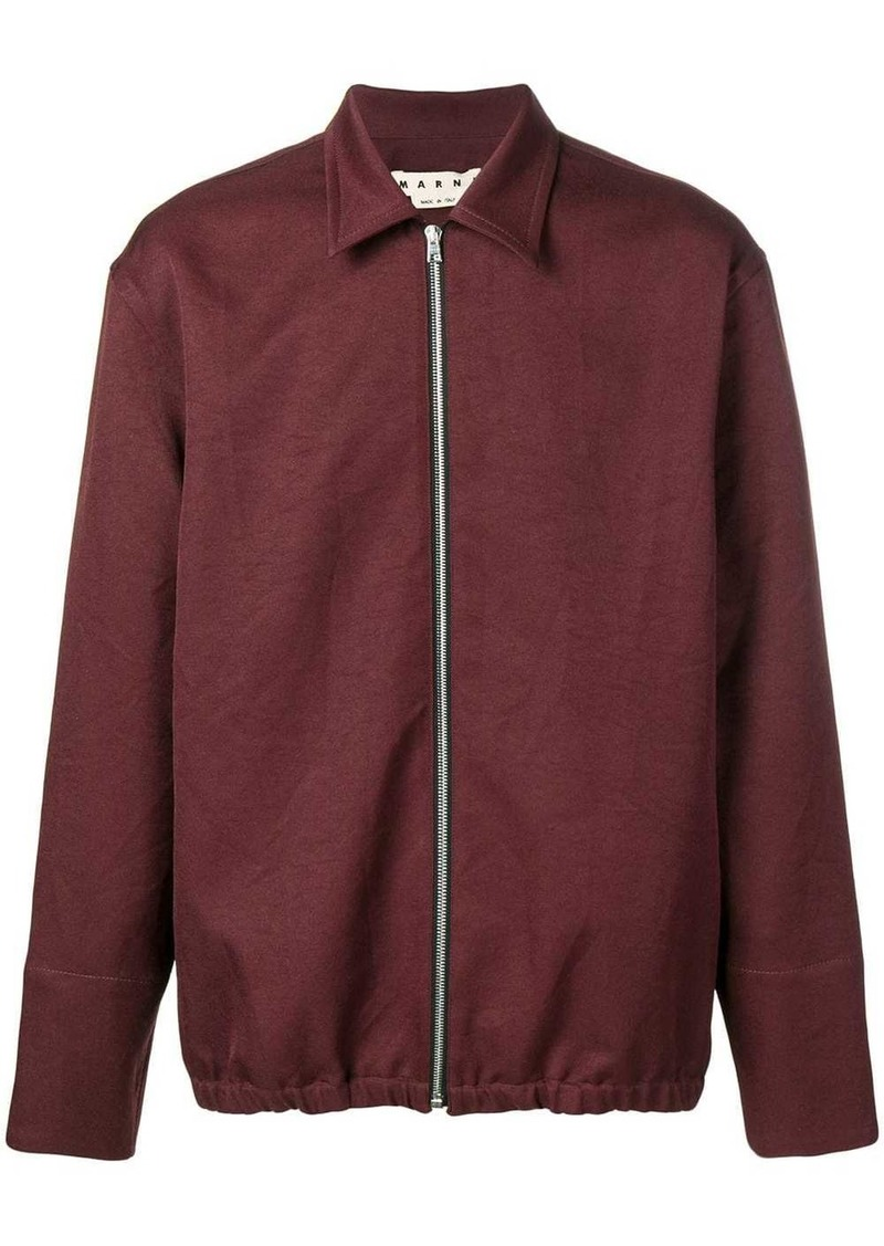 Marni fitted zip-up jacket