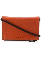 Marni flap wallet crossbody bag