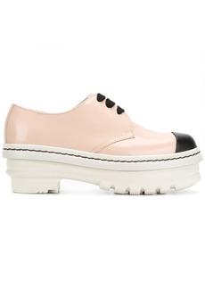 Marni flatform oxford shoes