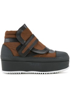 Marni flatform velcro ankle boots