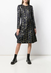Marni floral embroidered midi dress