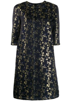 Marni floral embroidered T-shirt dress