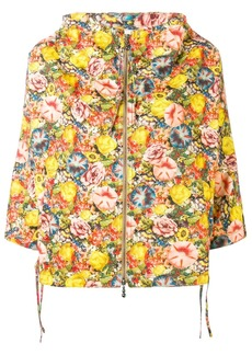 Marni floral hooded jacket