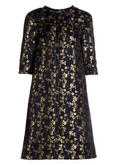 Marni Floral Jacquard Boxy Shift Dress